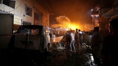 Minstens 14 doden bij ontploffing bomauto in noordwesten van Syrië