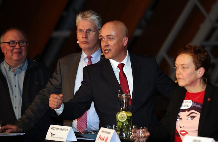 Spijkenisse Verkiezings debat Peter van der Velden-PVV