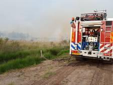Bliksem vermoedelijk oorzaak brand in Nationaal Park De Groote Peel