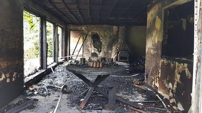 Tv vat vuur: renovatie van 150.000 euro gaat in vlammen op