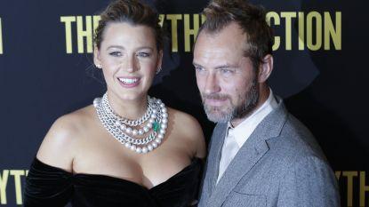 Blake Lively vertelt hoe Jude Law haar hand brak op set van nieuwe film