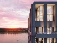 ZICHT, de laatste fase van duurzaam nieuwbouwproject op Antwerpse Nieuw Zuid: spectaculair uitzicht, rust en comfort met het bruisende stadsleven vlakbij