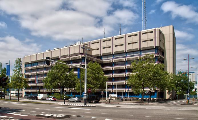 Het politiebureau aan de Mathildelaan in Eindhoven.