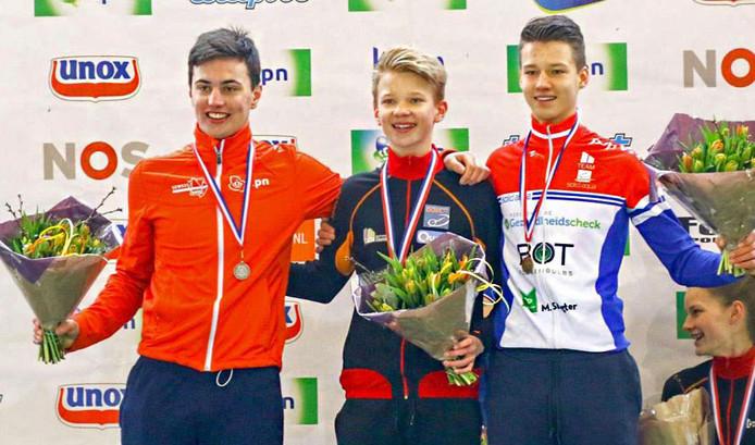 Multitalent Olav Kooij (links op de foto)