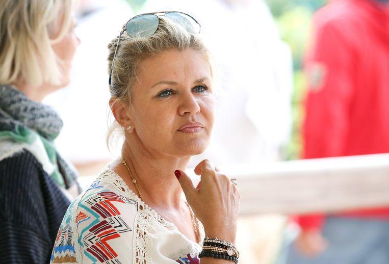 Moeder Corinna Schumacher.