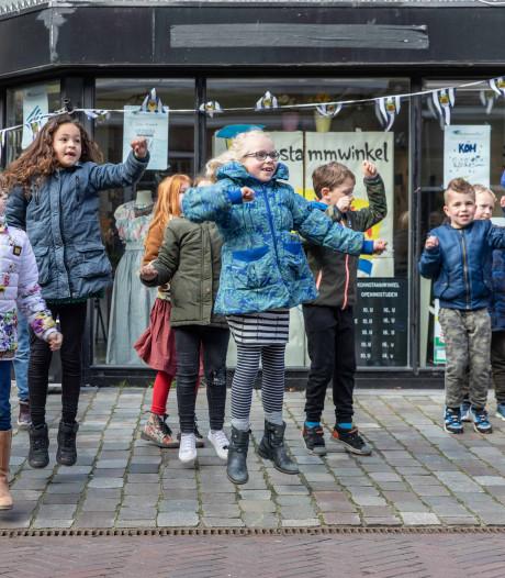 Kohnstammschool heeft deze week een eigen winkel in de binnenstad van Goes