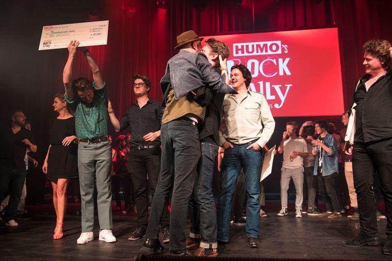 The Calicos kroonden zich tot winnaar van Humo's Rock Rally.