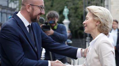 Charles Michel en Ursula von der Leyen bespreken toekomstige EU-prioriteiten