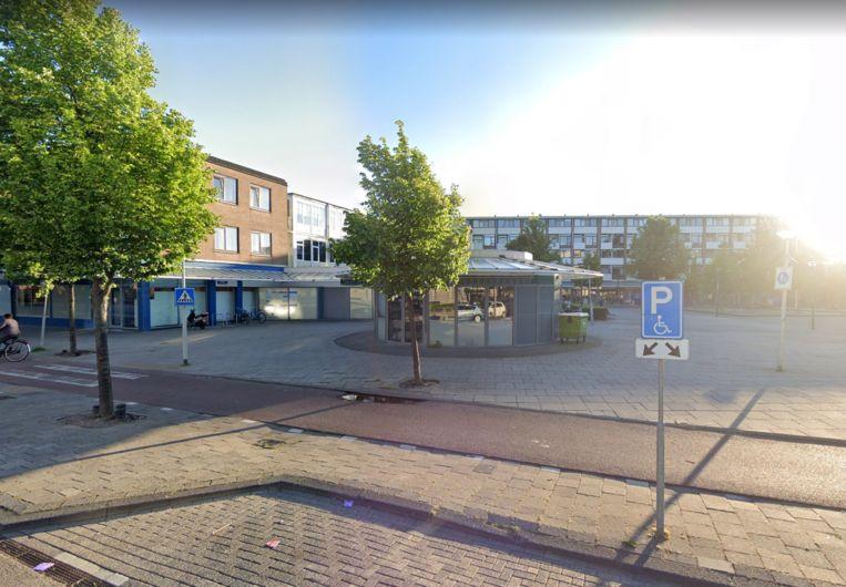 Het is niet duidelijk welke winkel is overvallen. Beeld Google Streetview