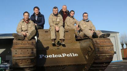 Expo 'Frontleven Wereldoorlog I in 3D' sluit af met evenement én tank uit Poelkapelle