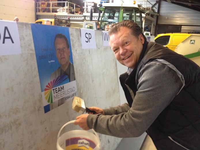 Lijsttrekker Eus Witlox van Team Meierijstad.