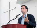 Thierry Baudet in debat over 'Het christendom en het einde van Europa'.