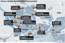Twaalf autobranden binnen twee maanden in Deventer.