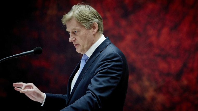 Staatssecretaris van Volksgezondheid, Welzijn en Sport Martin van Rijn. Beeld anp
