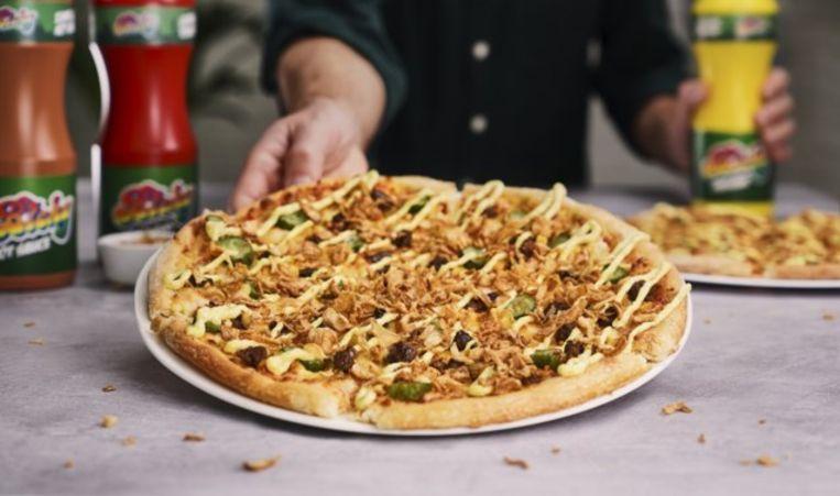 Pizzaketen Domino's lanceert de Bicky Pizza.