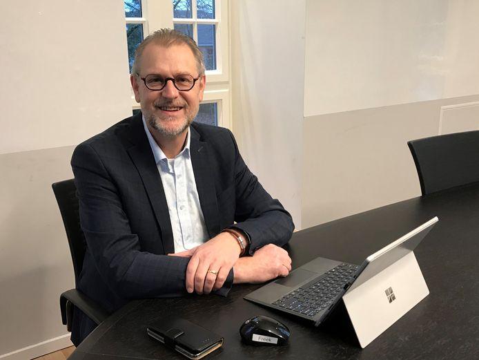 Freek Compagne, de nieuwe gemeentesecretaris van de gemeente Zundert