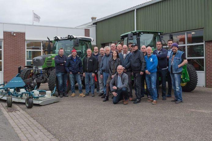 Medewerkers van de buitendienst van verschillende Zeeuwse gemeenten, die woensdag in Zierikzee zijn begonnen aan een cursus MBO-2.