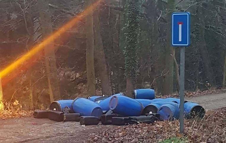 Beeld ter illustratie. Deze vaten werden enkele maanden geleden gevonden in Helchteren.