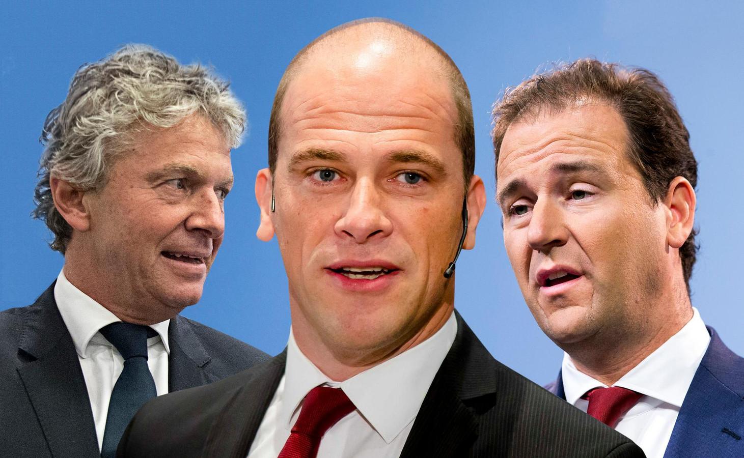 Jacques Monasch, Diederik Samsom en Lodewijk Asscher.