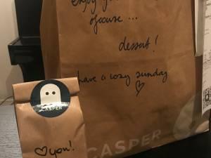 TAKEAWAY RECENSIE. Casper