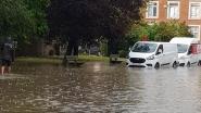 """Hoegaarden en Tienen getroffen door zwaar onweer: """"In 40 jaar tijd nooit meegemaakt"""""""