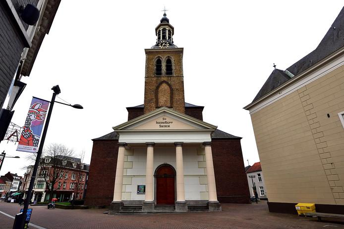 De St. Jan op de Markt in Roosendaal staat leeg.
