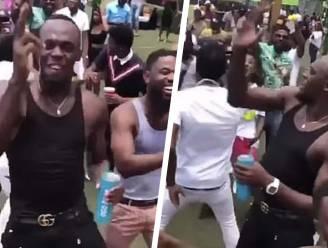 Usain Bolt test positief op corona na feestje waarbij alle regels met voeten werden getreden