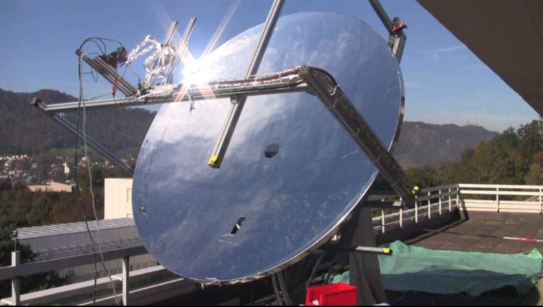 De nieuwe zonnespiegel. Beeld IBM.com