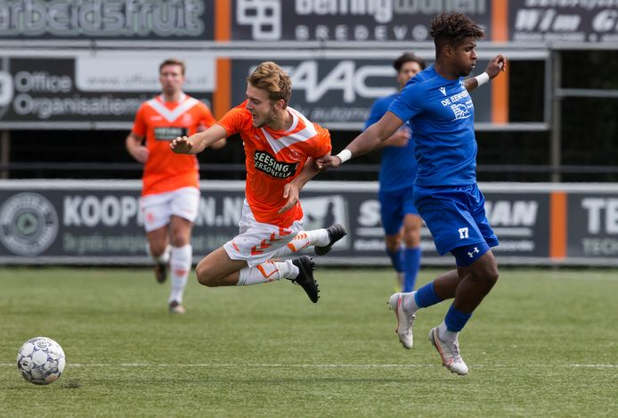 Luuk Doppen scoorde de 0-1 voor Longa'30.