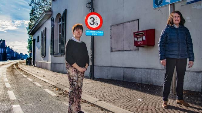 Vrachtwagens denderen binnenkort niet meer door dorpskern van Uitbergen: gemeente plaatst hoogtebegrenzer en ANPR-camera's