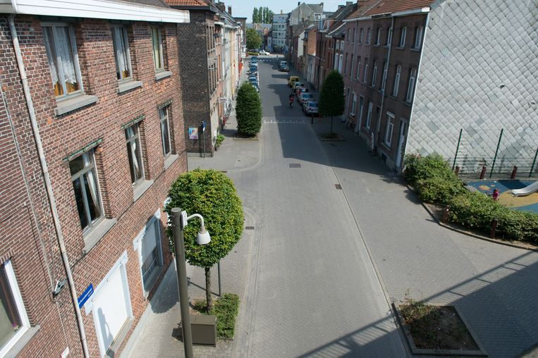 De Sint-Rumoldusstraat in Mechelen.