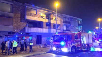 Brandweer blust brand op Herentalsebaan in Wommelgem