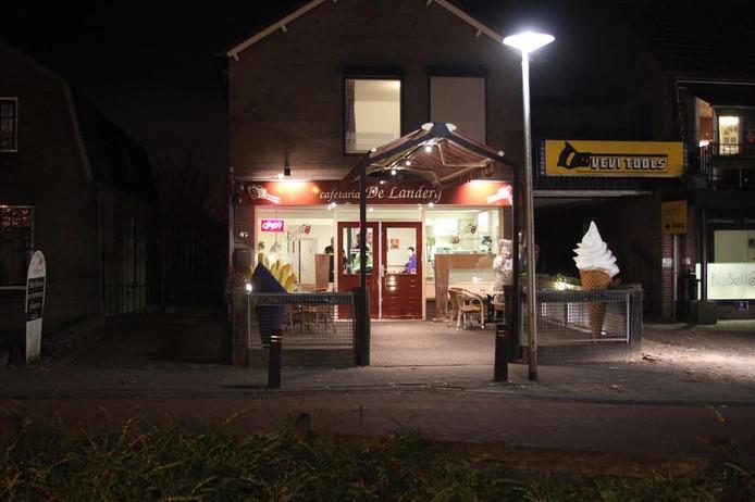 Overval op cafetaria De Landerij in Deurne