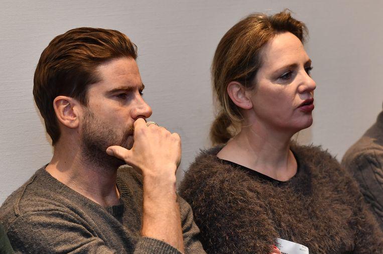 Net als acteur Kevin Janssens en actrice Maaike Cafmeyer.