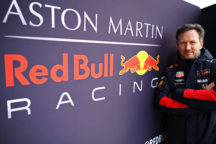 Red Bull-Racing-teambaas Christian Horner.