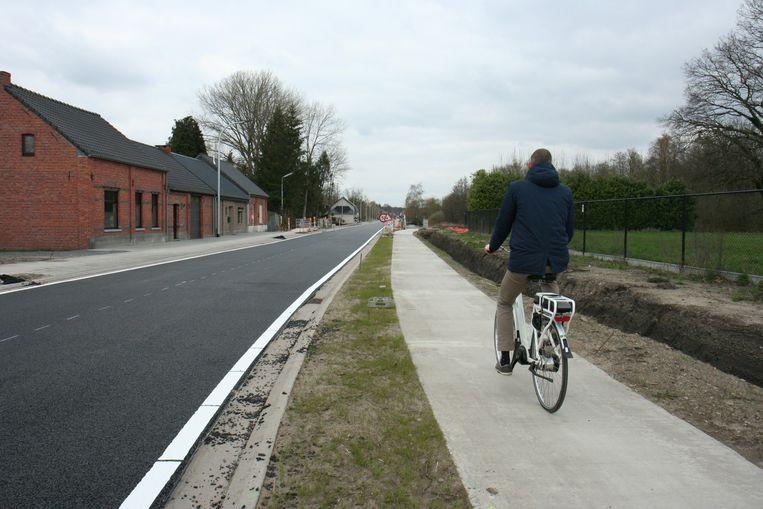 Het stuk van Soef tot Wezelbaan is inmiddels weer open.