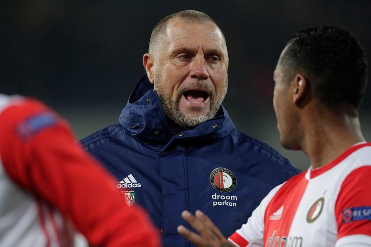 John de Wolf, assistent-trainer van Feyenoord. Beeld BSR Agency