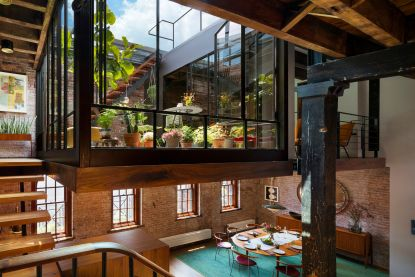 Waanzinnig wonen: daktuin en terras maken van deze loft in Manhattan een droomplek