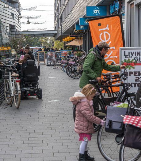 Winkelcentrum Stadshagen langzaam maar zeker fietsvrij: 'Dit is voor ons een mijlpaal'