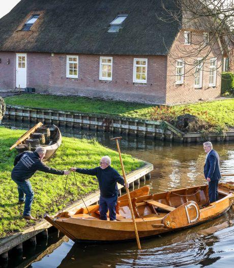 Klassieke punter moet terugkeren in Giethoorn: 'Dit hoort bij ons zoals de gondel bij Venetië'