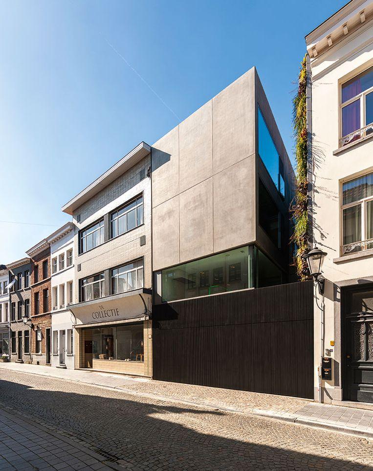 In beeld 10 jaar crepain binst architectuur style for Huis met tuin gent