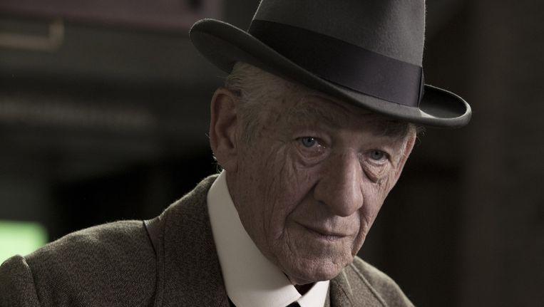 Sir Ian McKellen als Mr Holmes. Beeld Giles Keyte