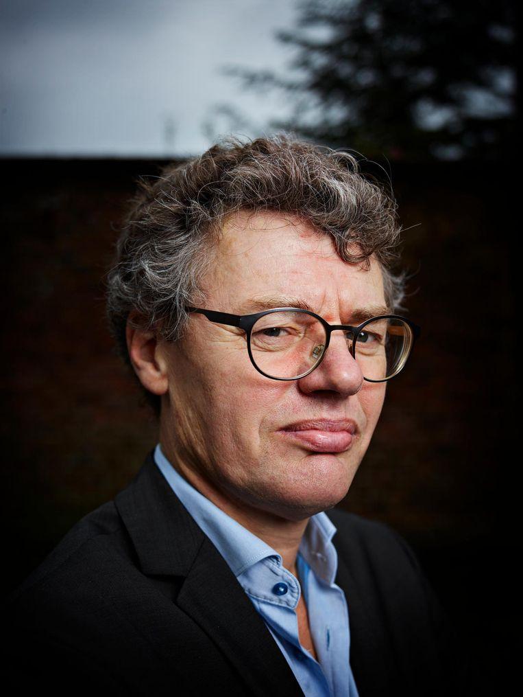 Leo Lucassen, hoogleraar aan de universiteit Leiden. Beeld  Hollandse Hoogte/Merlijn Doomernik