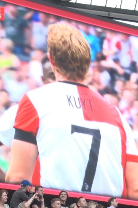 D-day: nog één keer genieten van Dirk Kuyt in De Kuip
