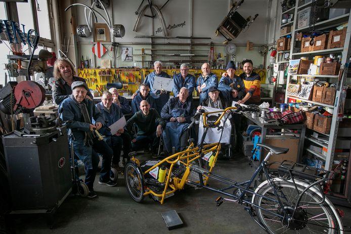 Bewoners  van Vitalis Vonderhof, alias The Vonderboys, hebben twee fietsen gepimpt voor bewonersgebruik. Ze wilden een mannelijke bezigheid en daar is dit fietsenproject uit voortgekomen.