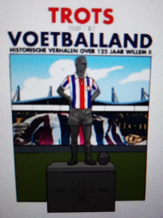 Voorkant van stripboek Willem II.