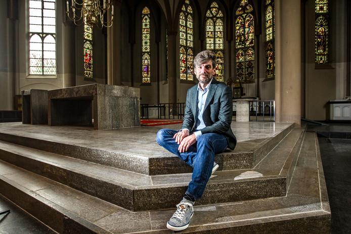 Misha van Denderen, voorzitter scholen voor Persoonlijk Onderwijs.