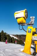 Sneeuwkanonnen garanderen ruim 100 skidagen per jaar