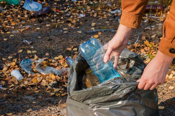 De jaarlijkse schoonmaakactie op Noord-Beveland leverde dit jaar 61,5 kilo aan zwerfafval op.