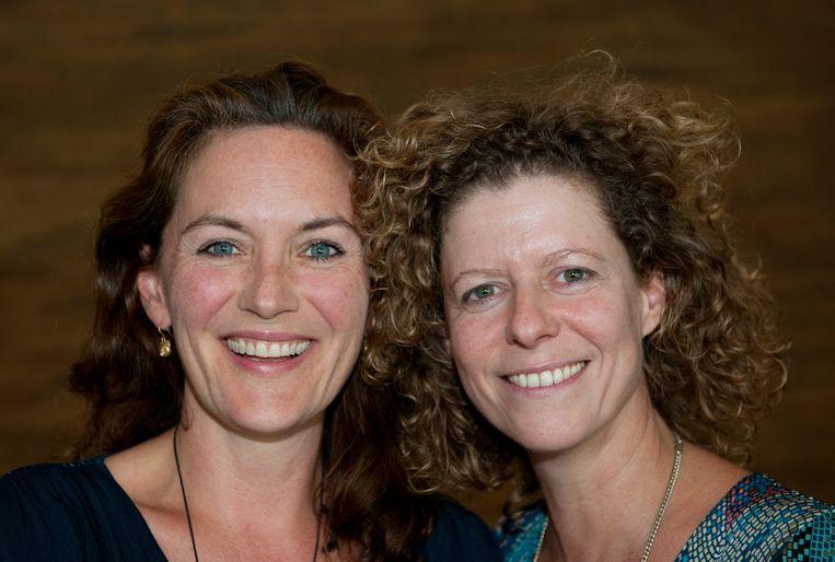 Maike Meijer & Margot Ros - Hoofdrolspeelsters 'Toren C'